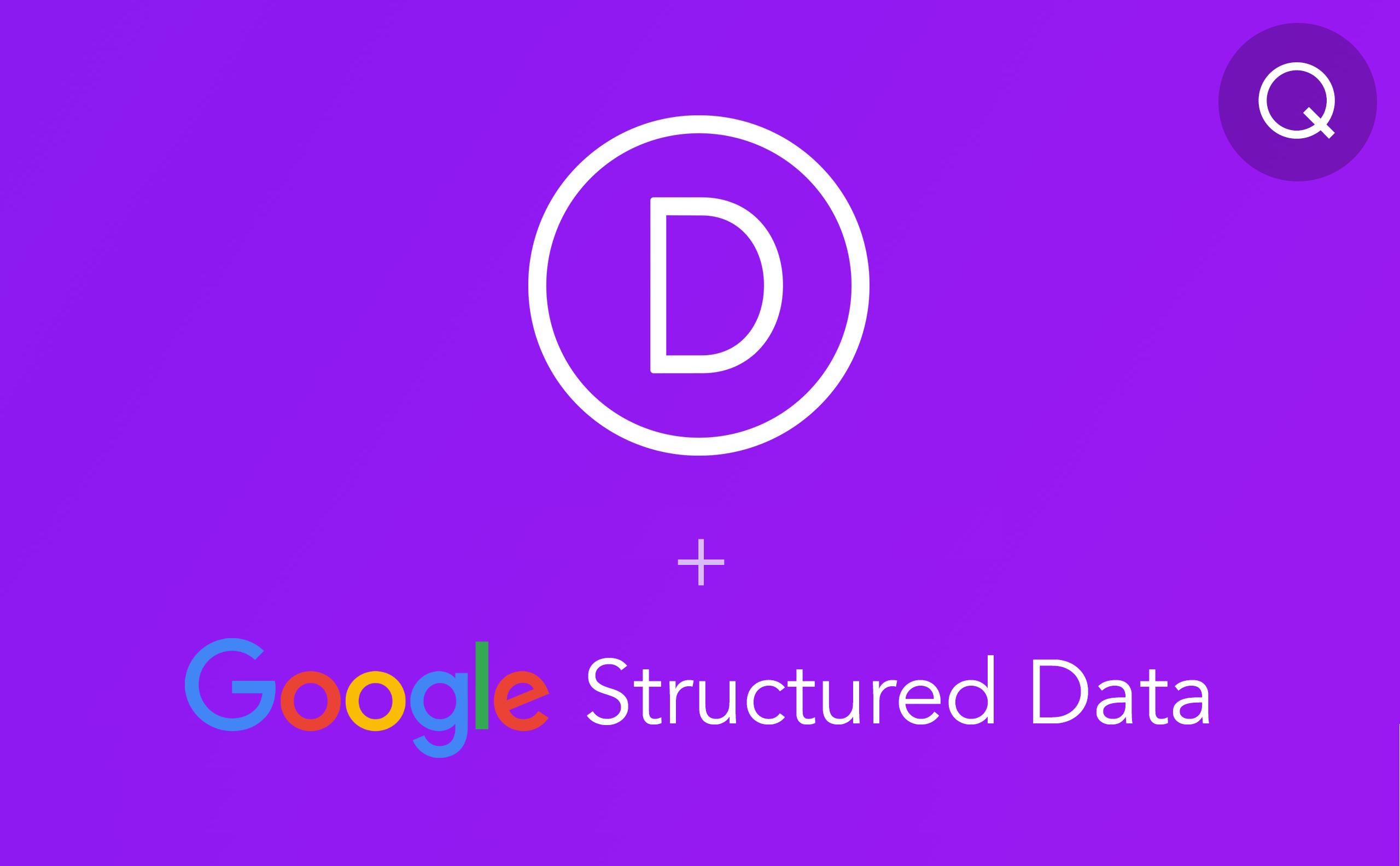 Google Structured data in Divi theme
