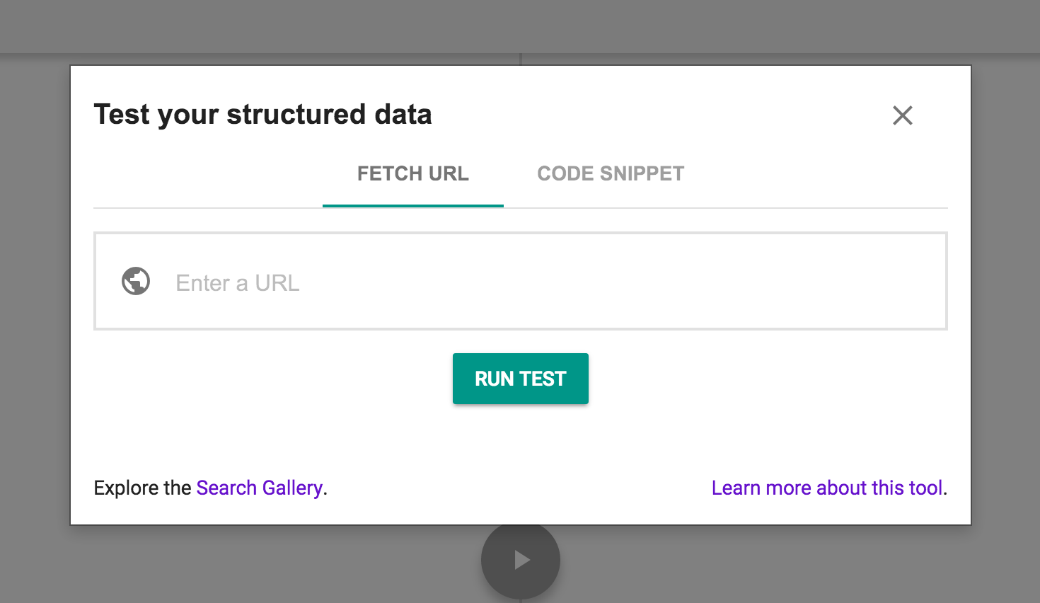 Google-Structured-data-testing-tool