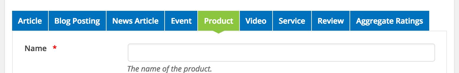 Wp SEO structured data Option setup