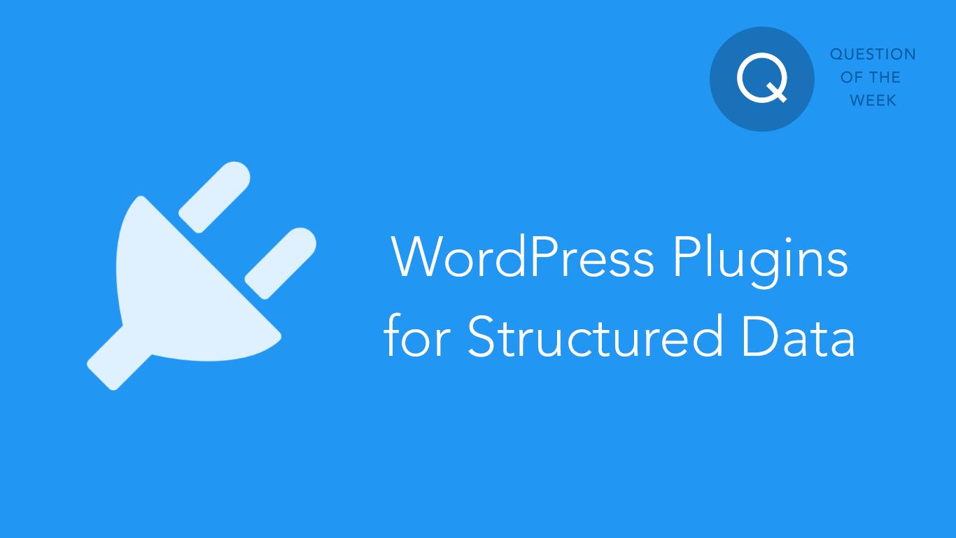 Structured-data-WordPress-plugins
